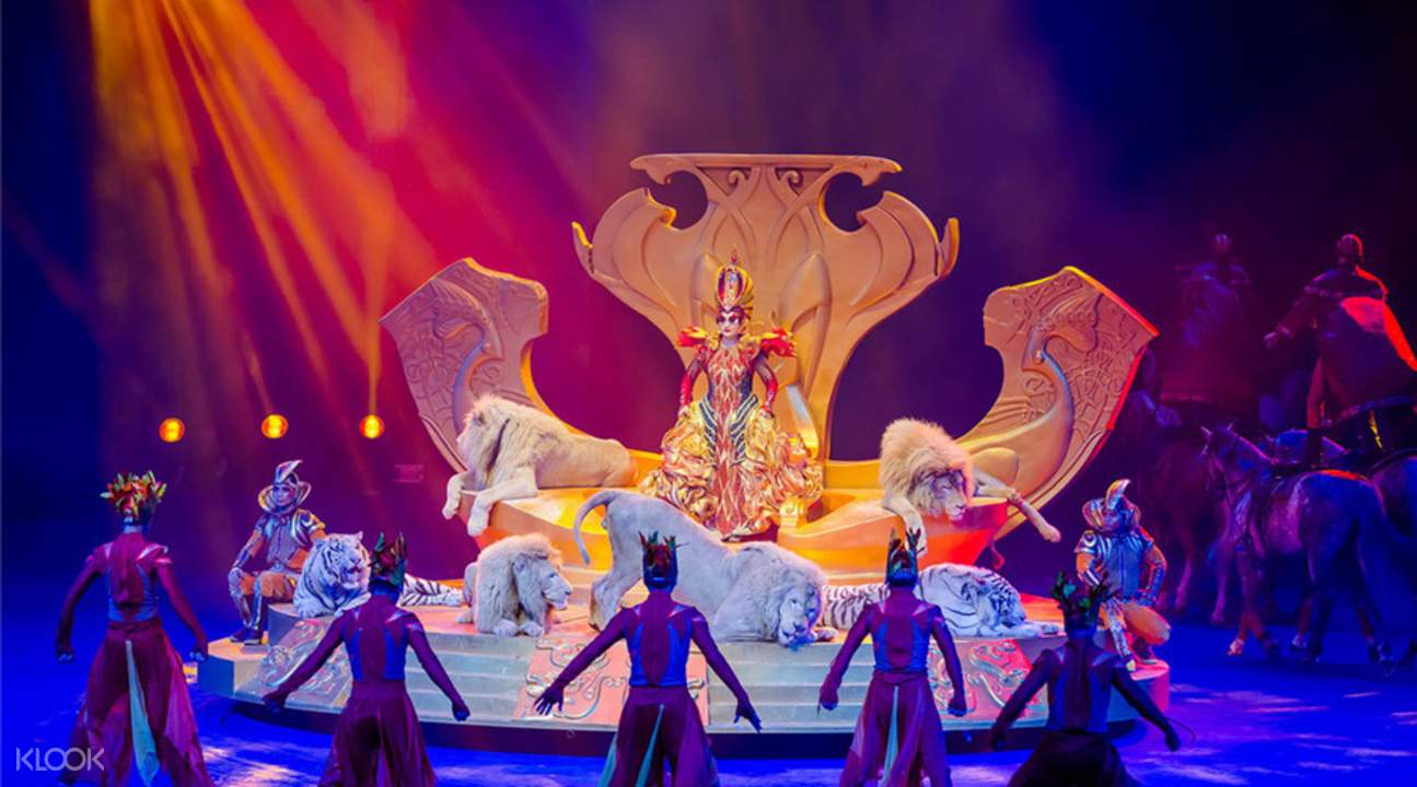 广州长隆国际大马戏门票 中国籍游客限定图片