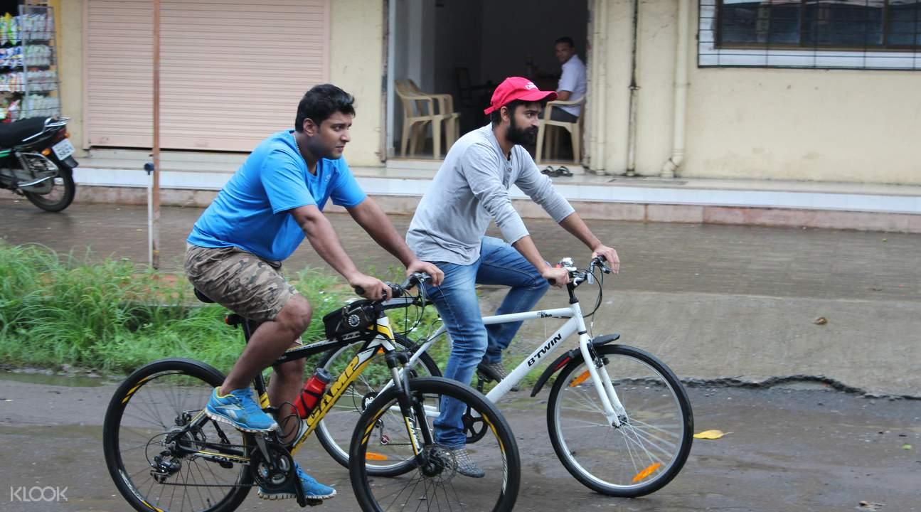 孟買晨間自行車探索之旅
