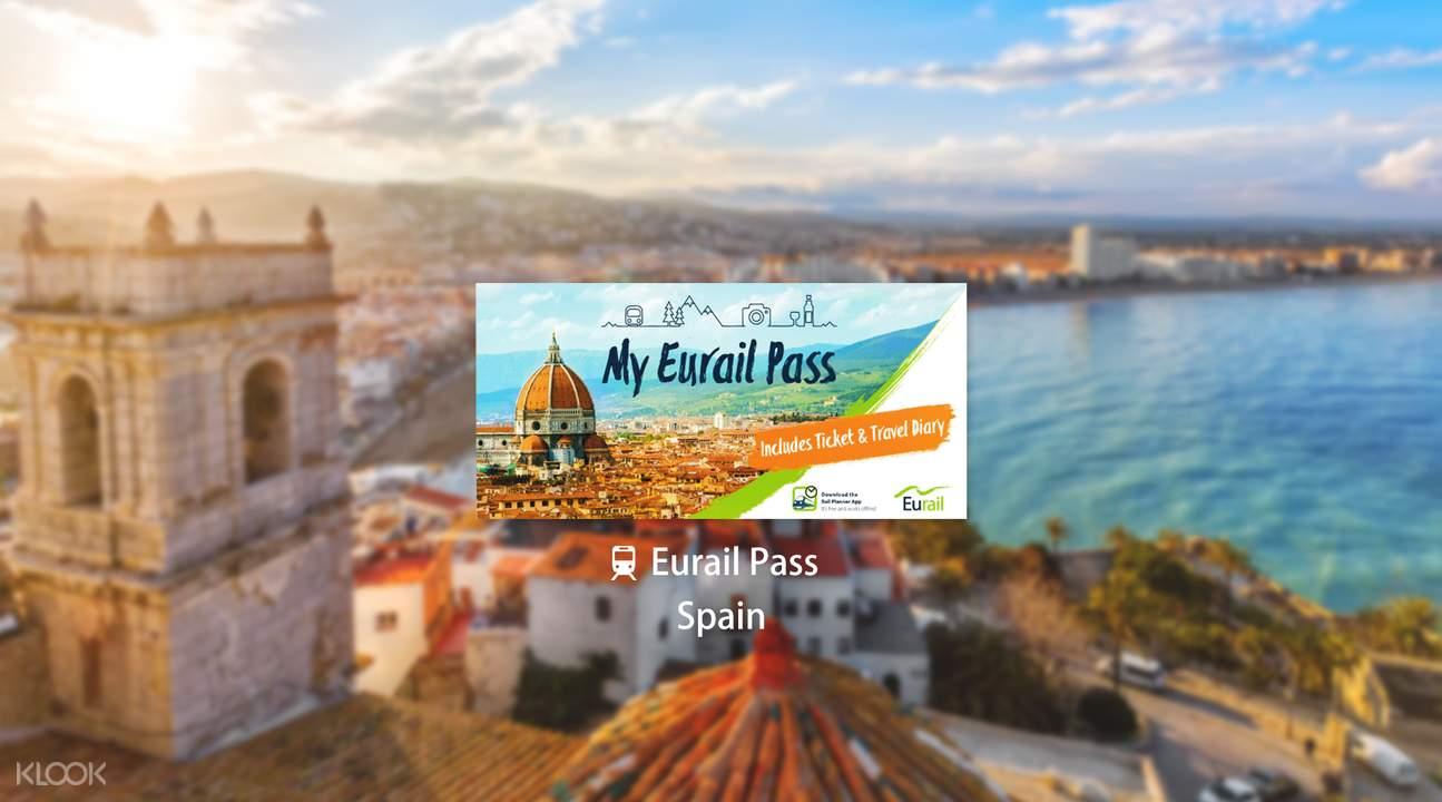 歐鐵西班牙火車通行證