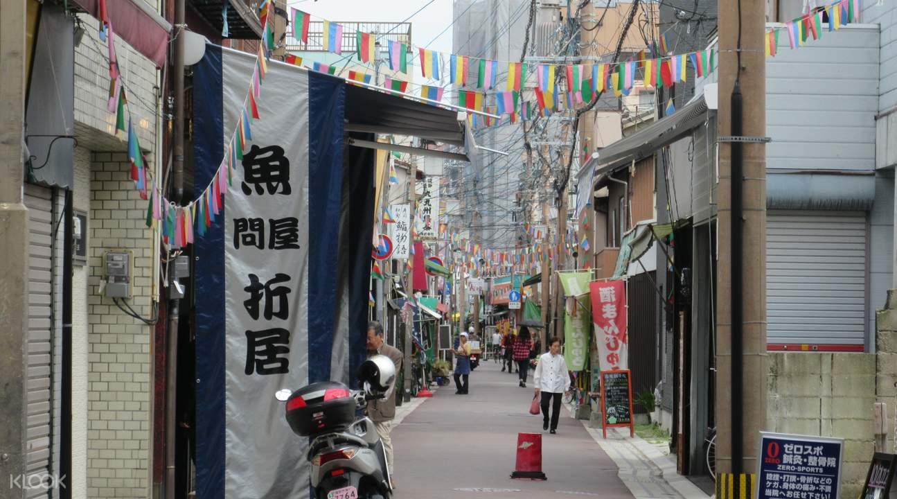 人情商店街漫步