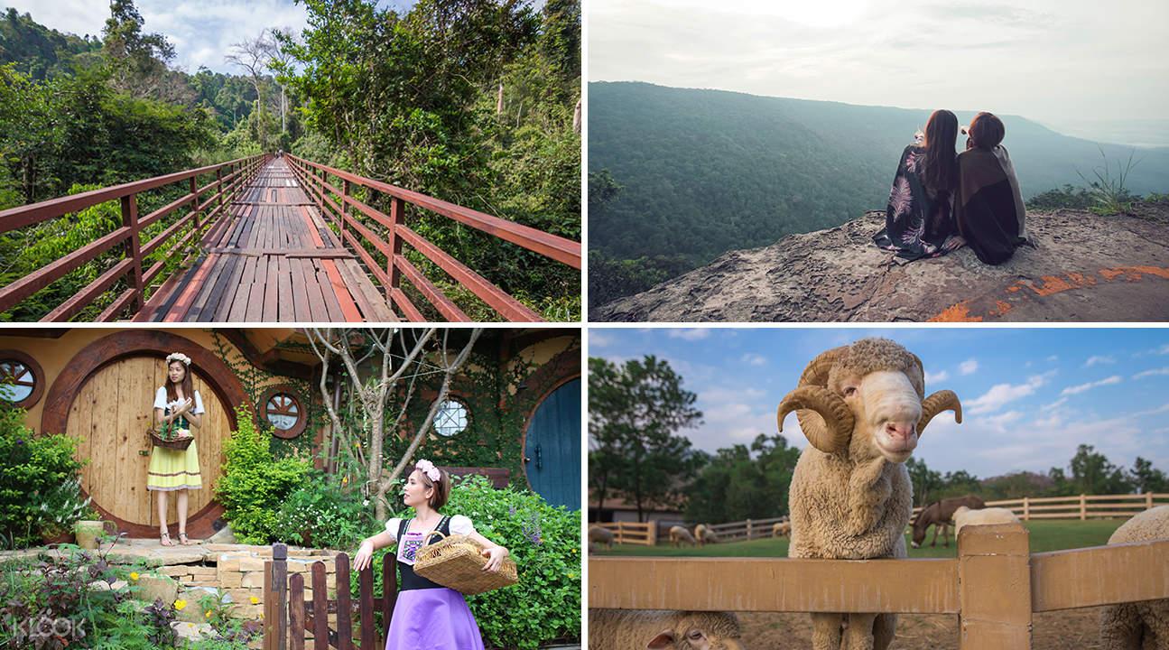 khao yai national park attractions