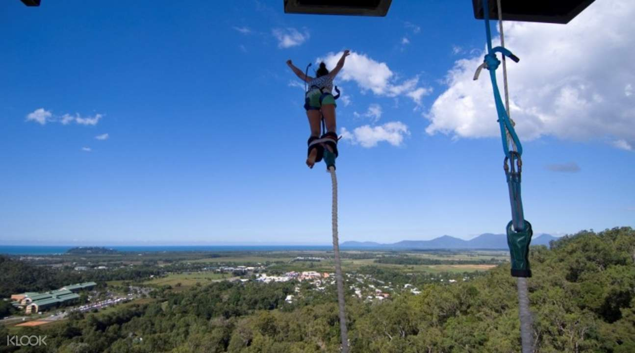 Cairns Bungy Jump & Minjin Swing Combo