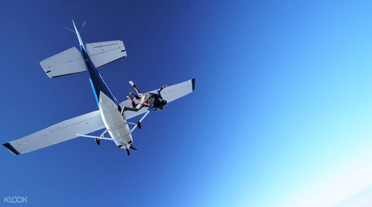 拉斯维加斯大峡谷串联跳伞
