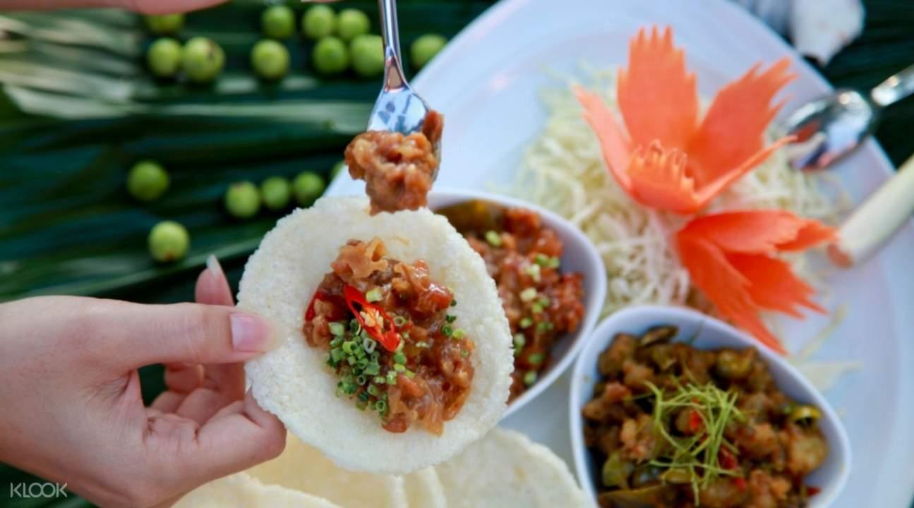 Khao Tang Ghoong Pirod & Lhon Ghoong baba soul food sri panwa phuket thailand
