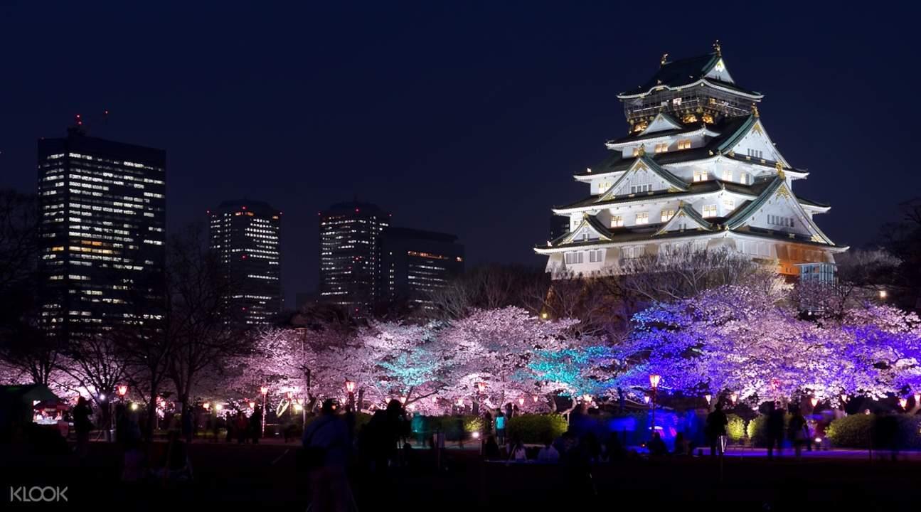 大阪城演出