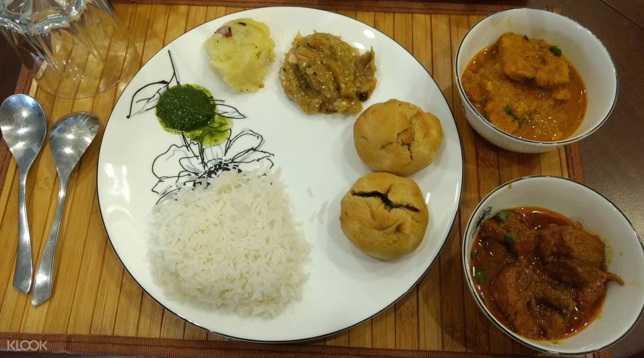 正宗比哈爾邦美食家庭用餐體驗