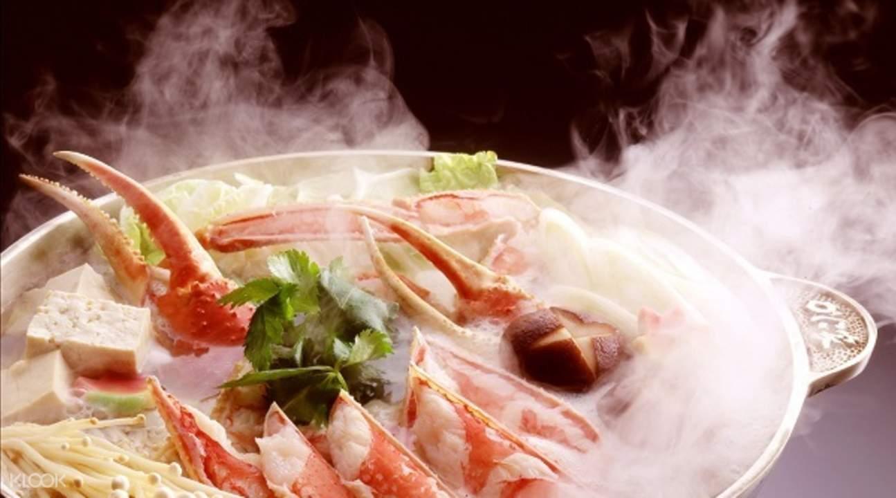 札幌 螃蟹家本店(札幌かに家) 長腳蟹鍋套餐