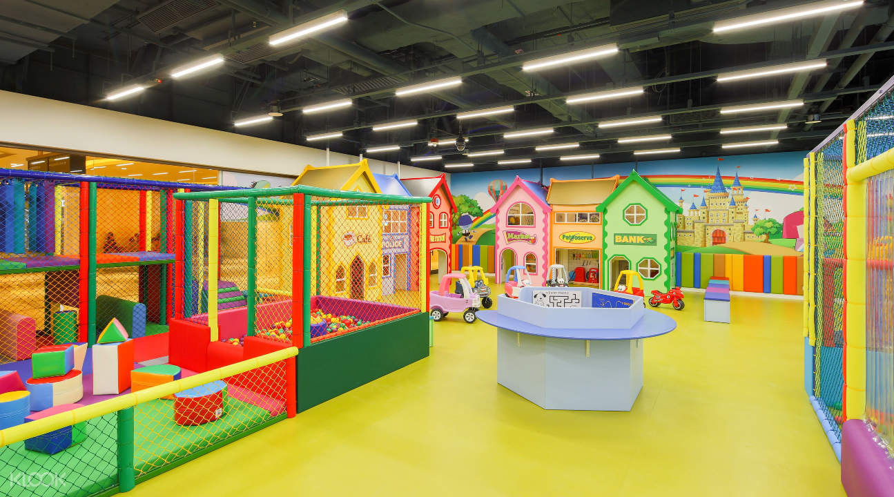 a playground inside SCC QUBE2