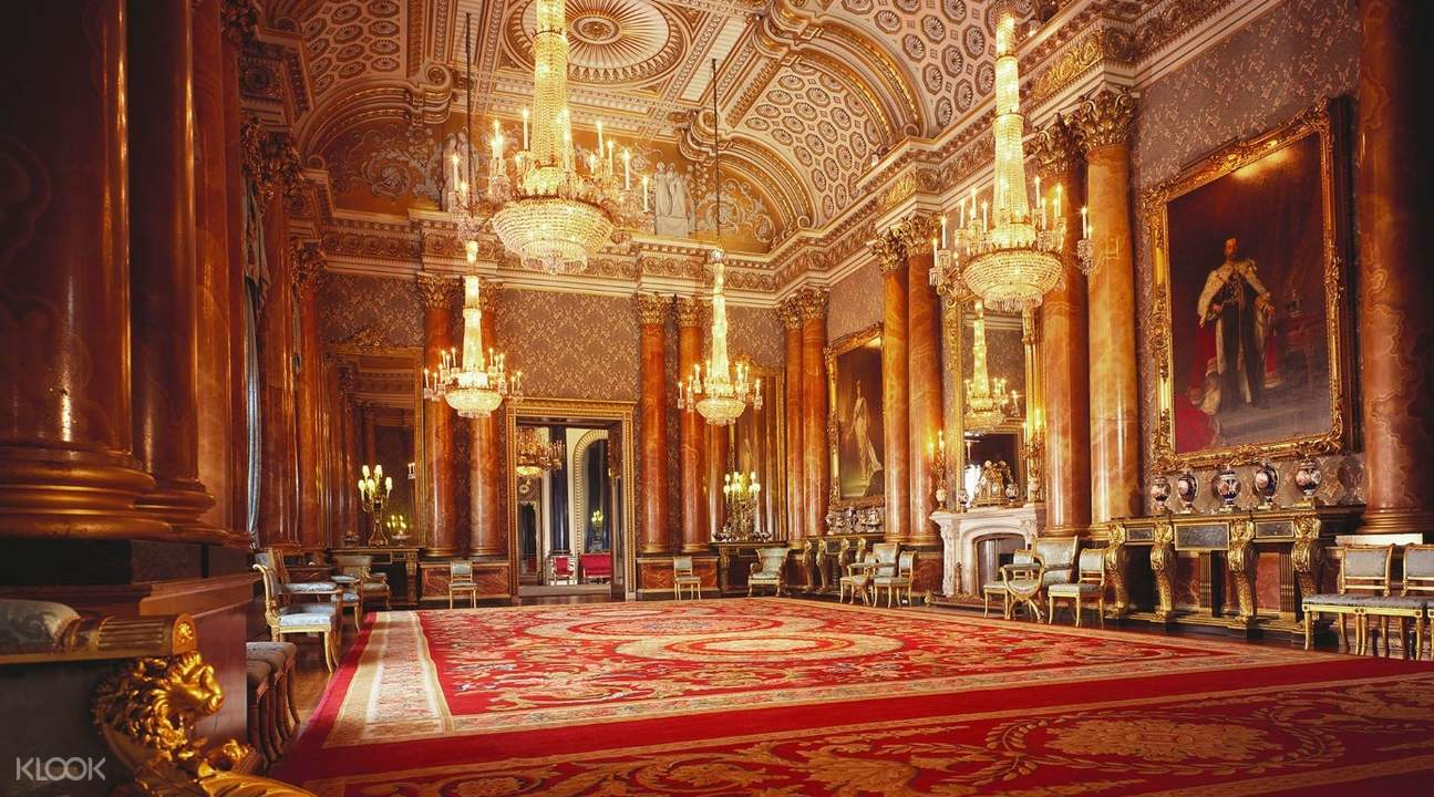 blue drawing room buckingham palace