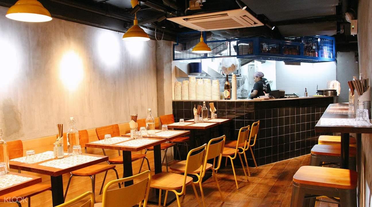 Restaurant Interior Meen in Central