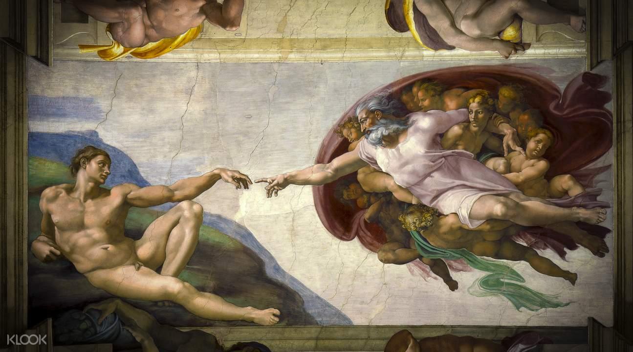 米開朗基羅名畫