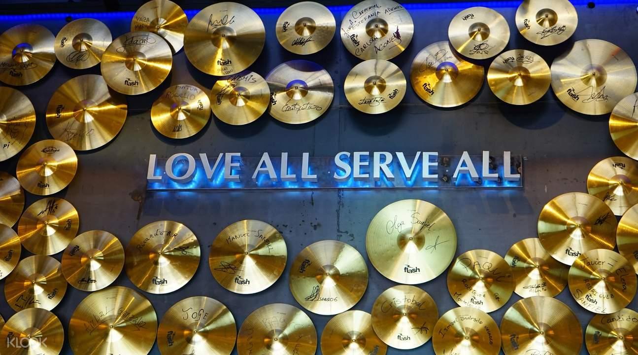 塞維利亞Hard Rock Cafe硬石搖滾主題餐廳餐券