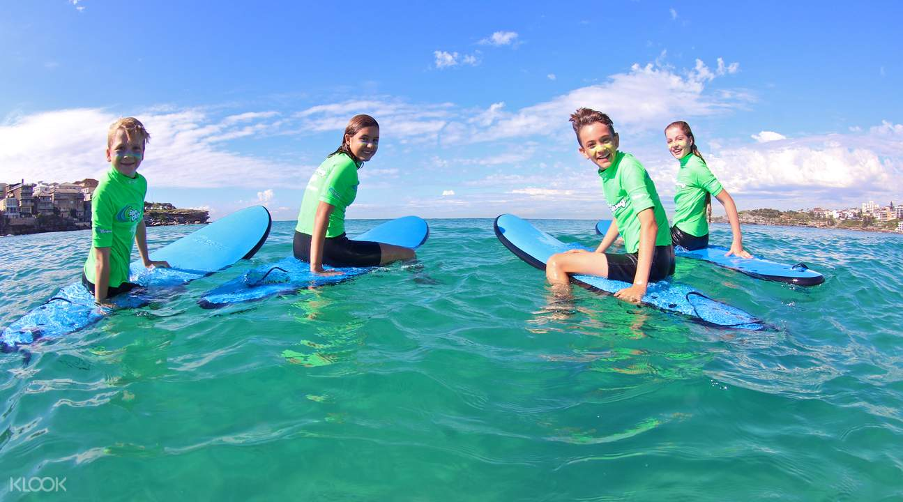 bondi private surf lesson