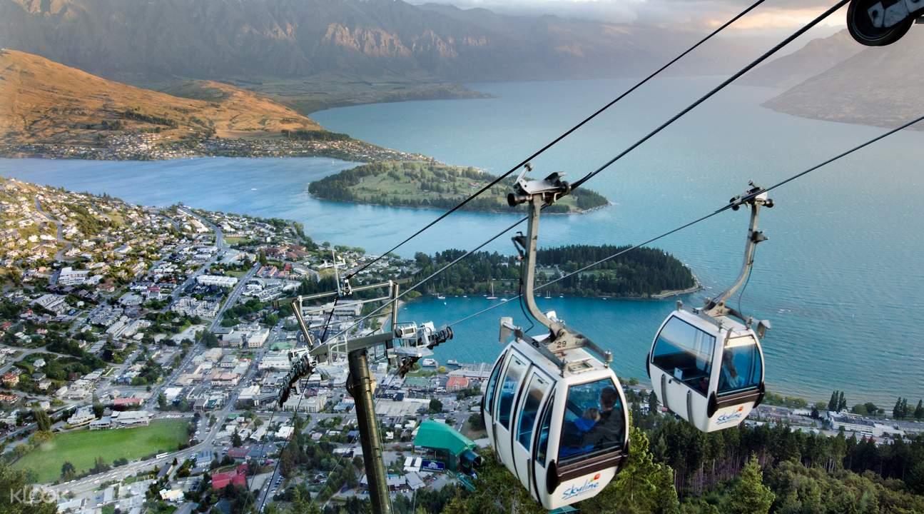 รถกระเช้าสกายไลน์กอนโดลา (Skyline Gondola) และรถเลื่อนลูจ