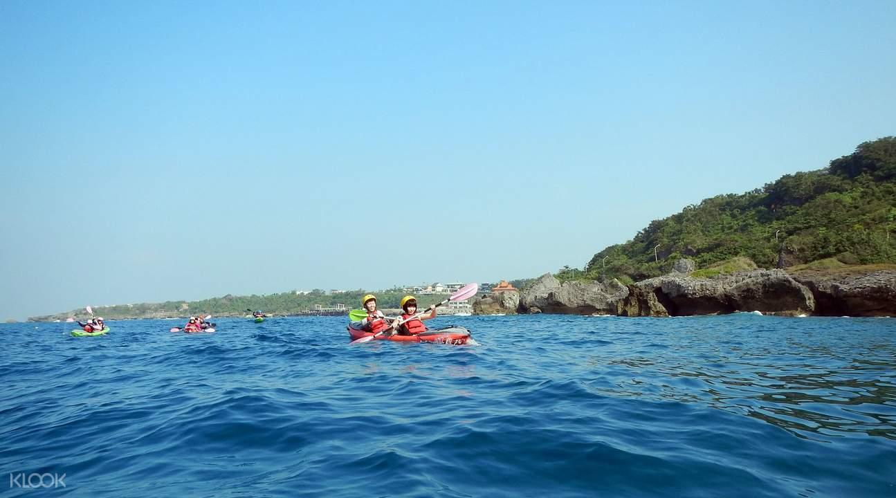 小琉球皮划艇体验