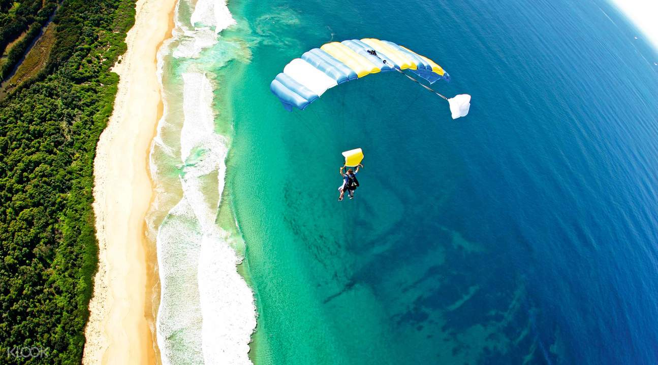 Wollongong Beach Skydiving