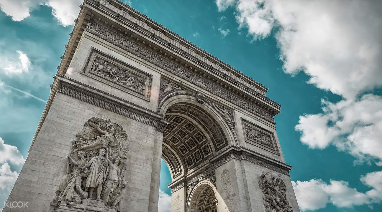 巴黎凱旋門浮雕