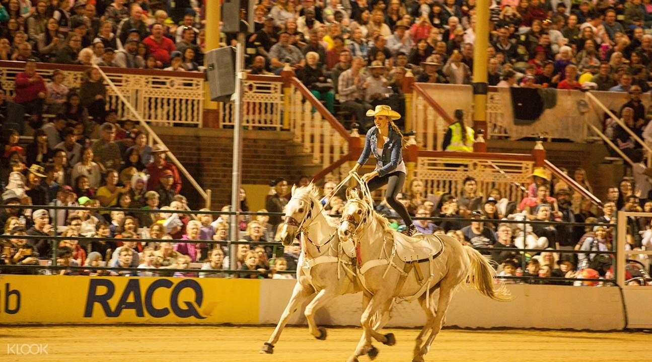 ekka equestrian event