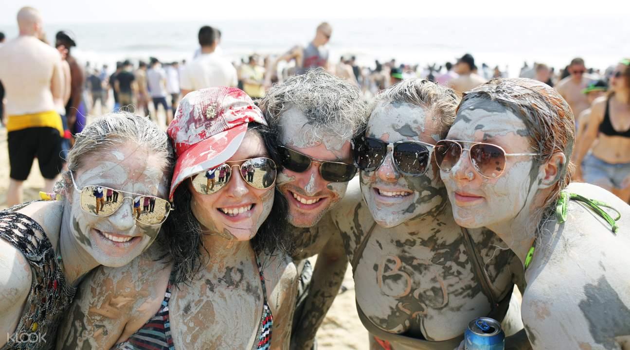 busan boryeong mud festival shuttle bus