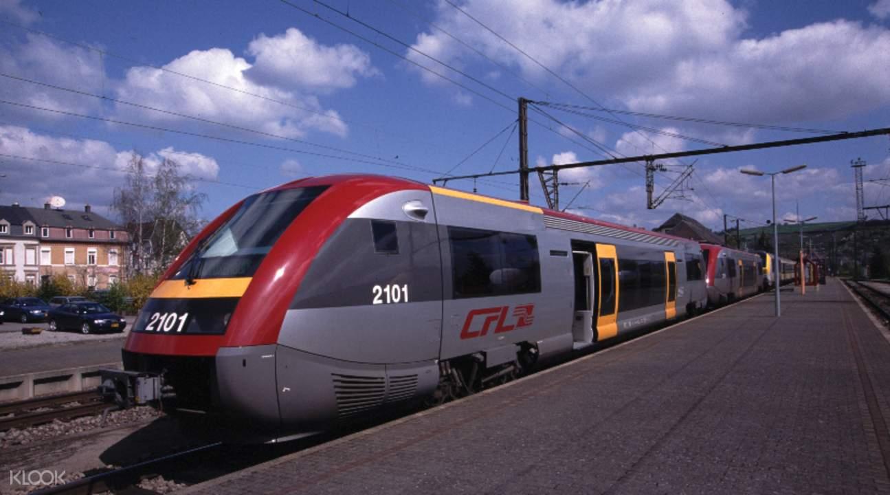歐鐵比荷盧火車通行證