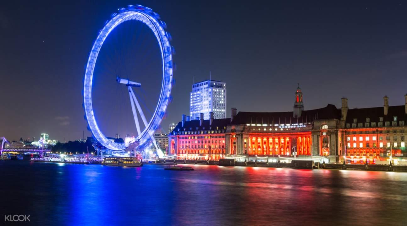伦敦眼摩天轮门票