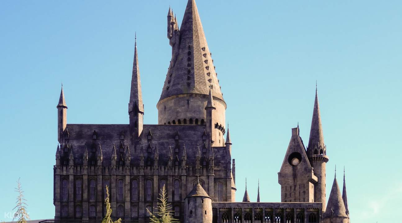 universal studios hollywood hogwarts castle