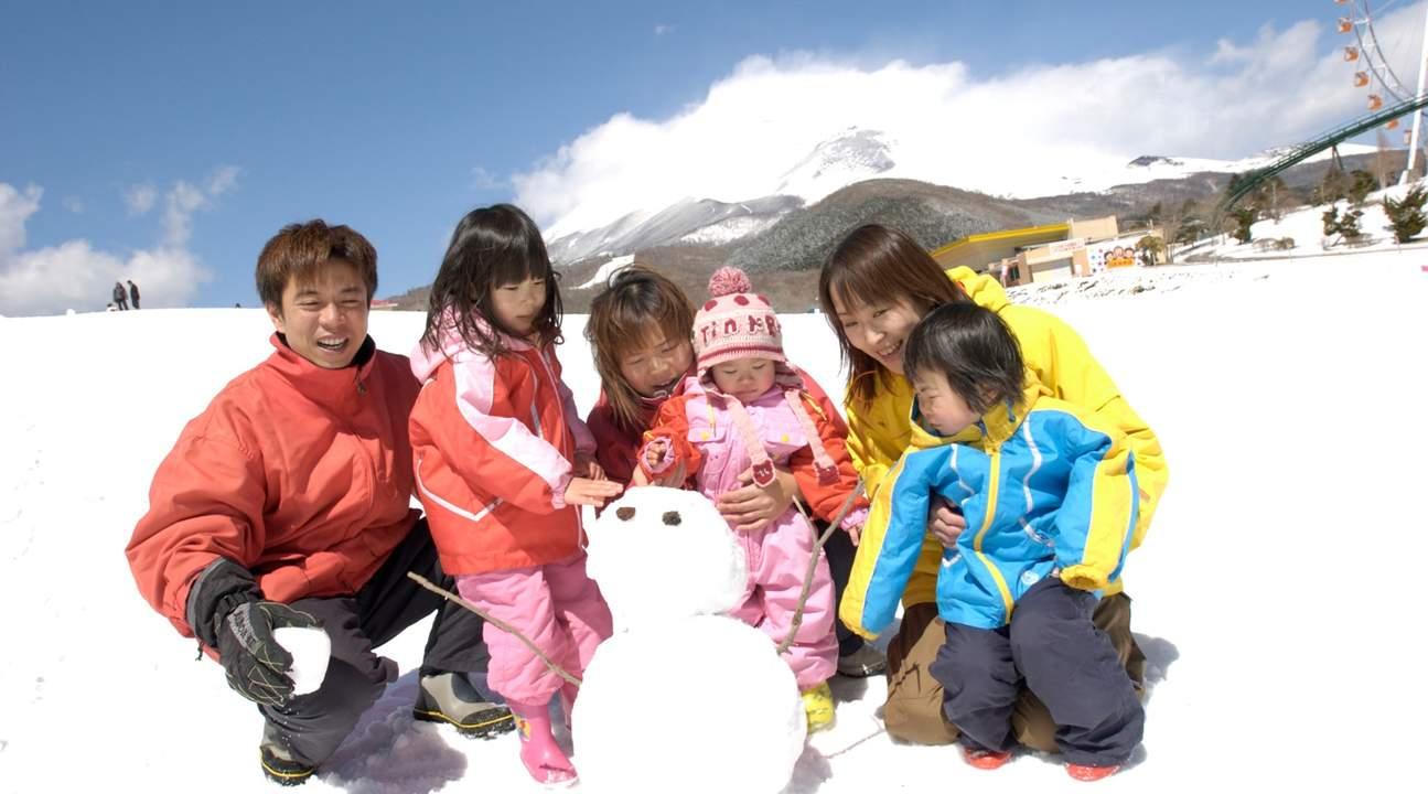 東京 富士山 富士天 玩雪