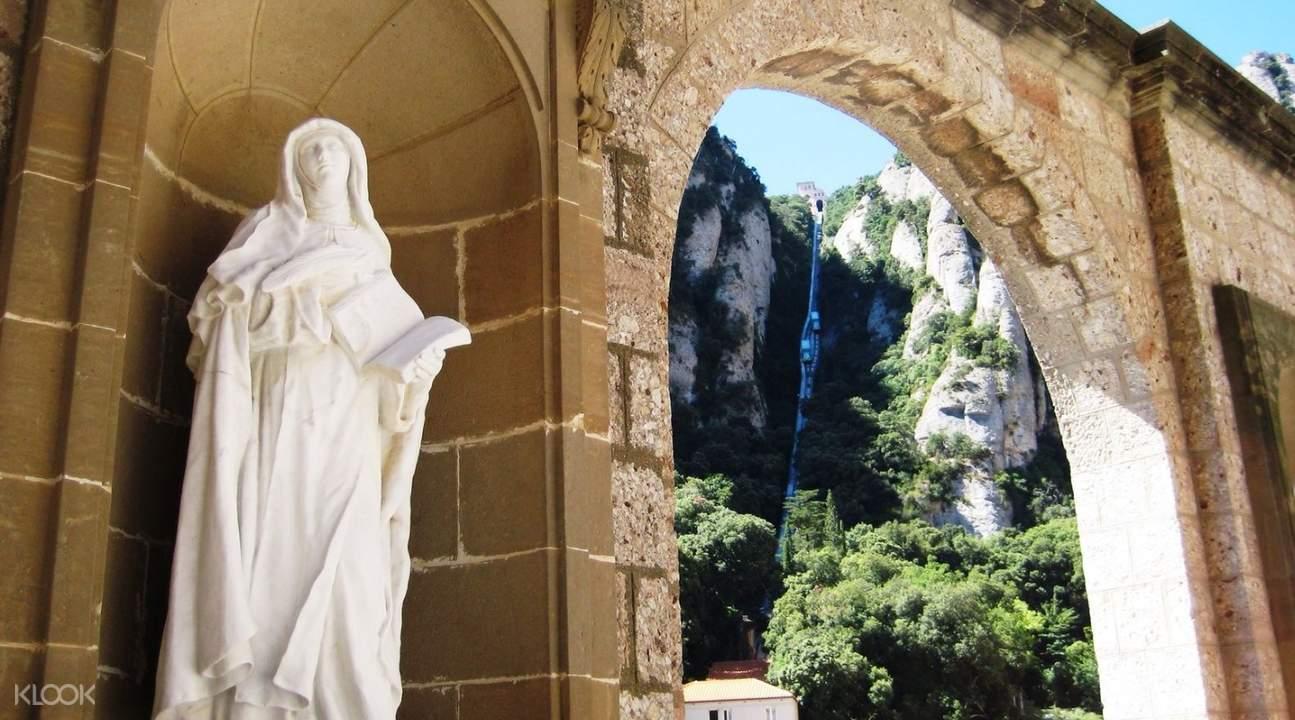 巴赛隆纳蒙特塞拉特圣山修道院