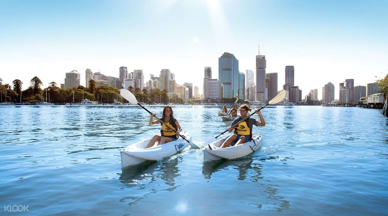 Guided Kayaking Tour in Brisbane