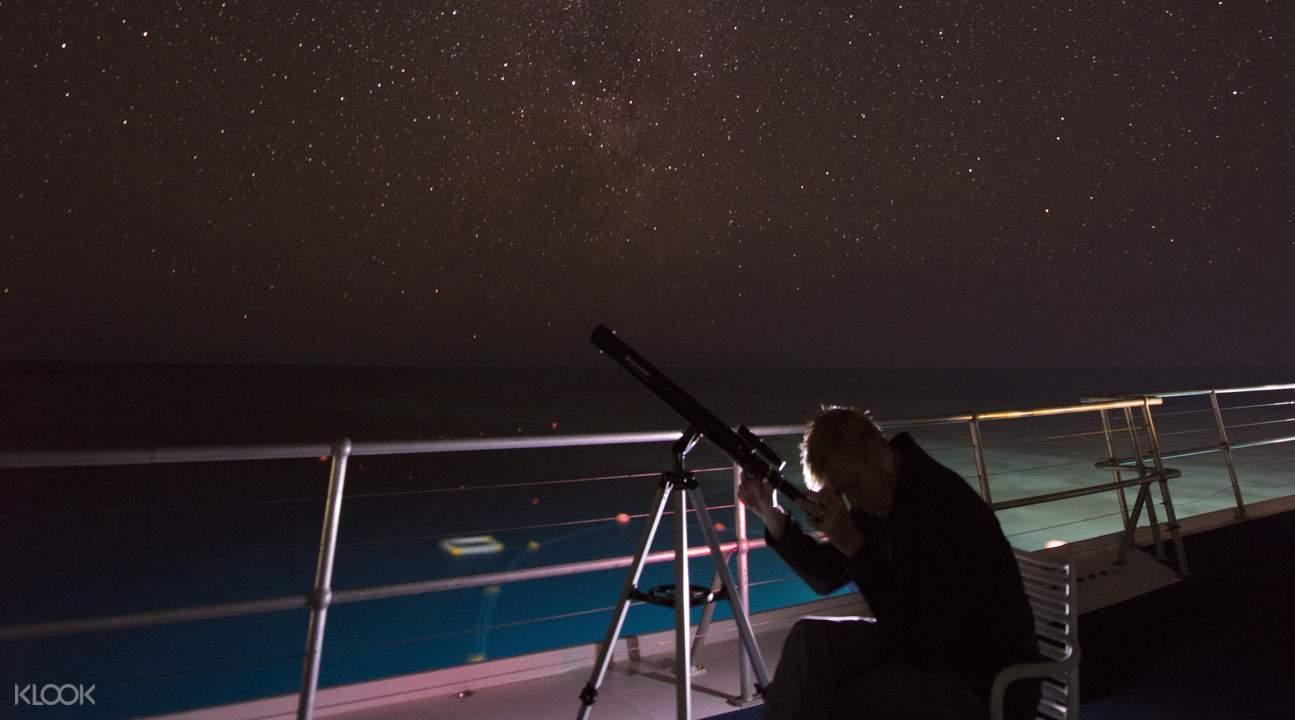 stargazing great barrier reef
