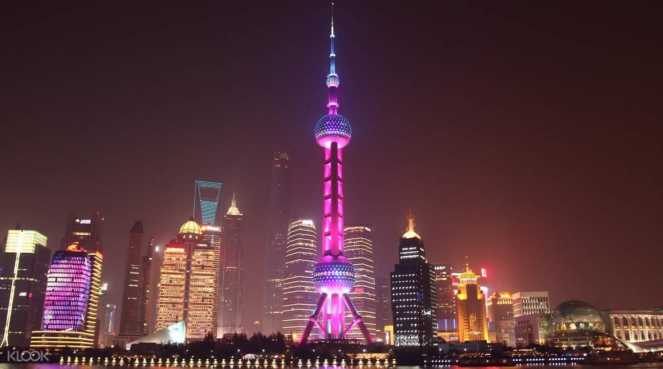 上海黄浦江游船