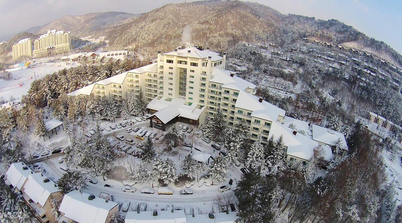 龍平度假村滑雪教學3天2夜遊