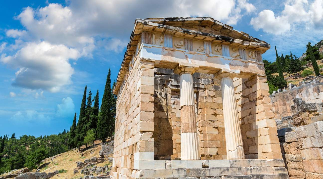 meteora and delphi tour from athens