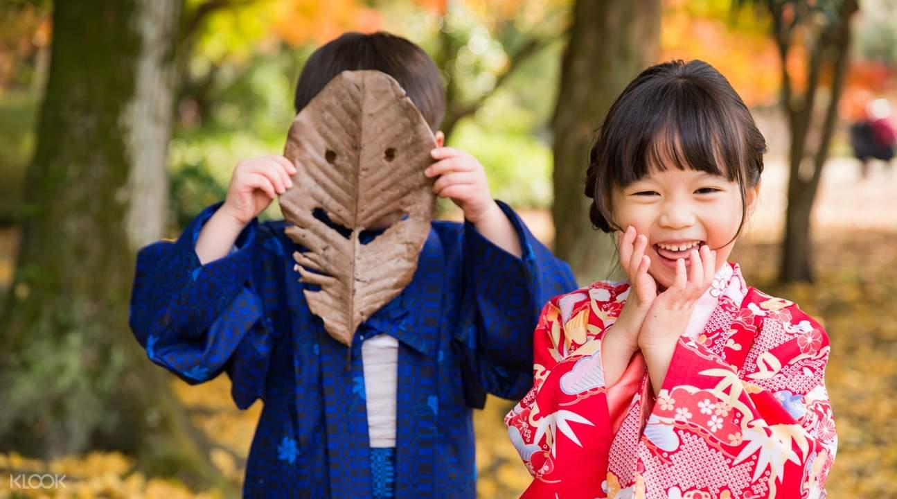 kyoto kimono photo shoot