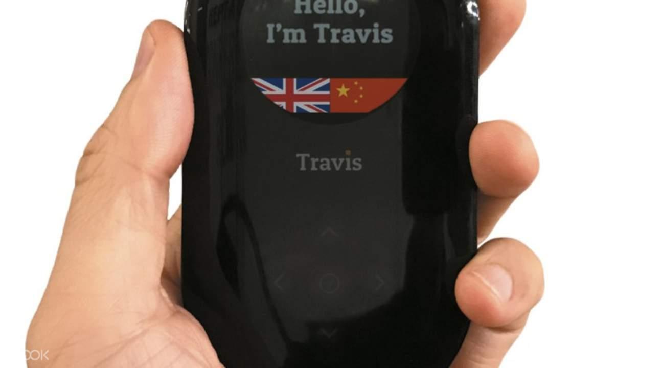 travis translator hong kong airport pick up serbia