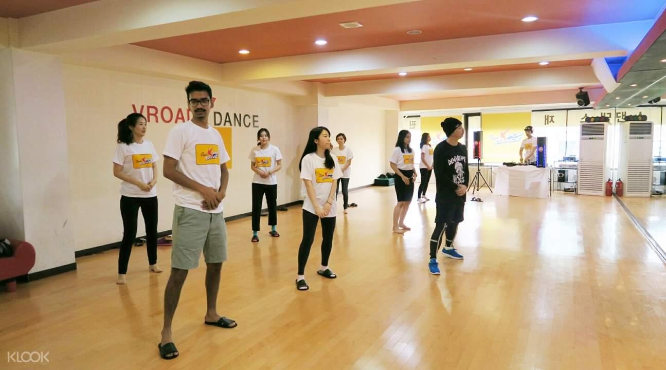 k pop dance 课程