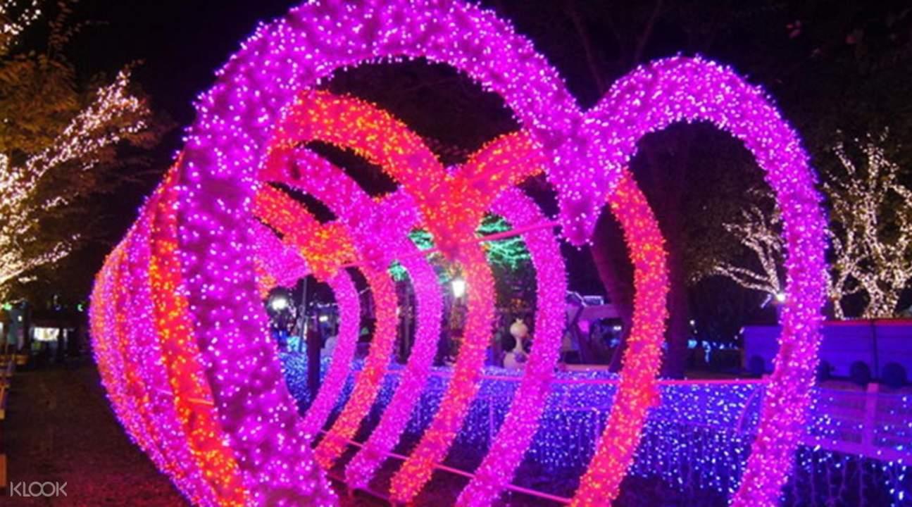 济州灯光庭院 & 自助照相馆