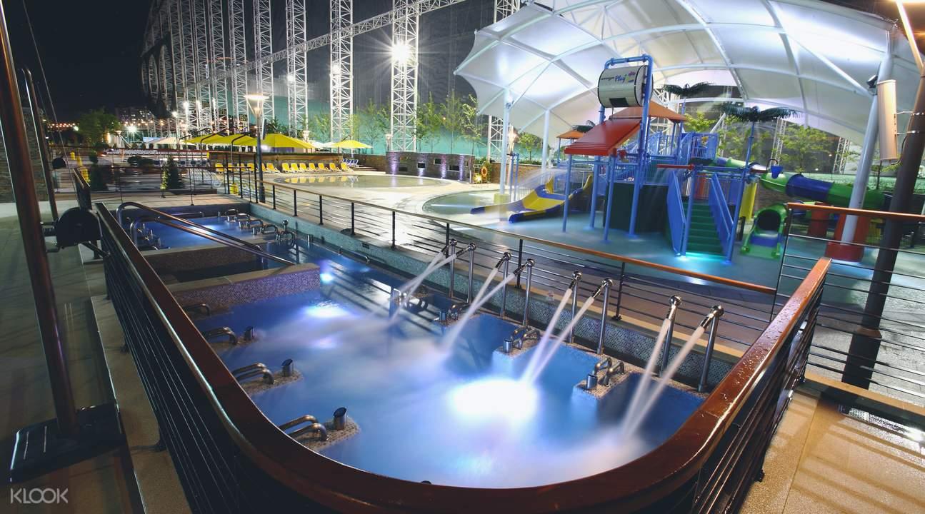 Korea indoor ski park