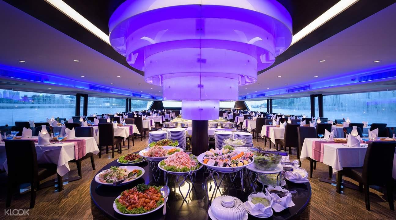 夜游湄南河晚餐