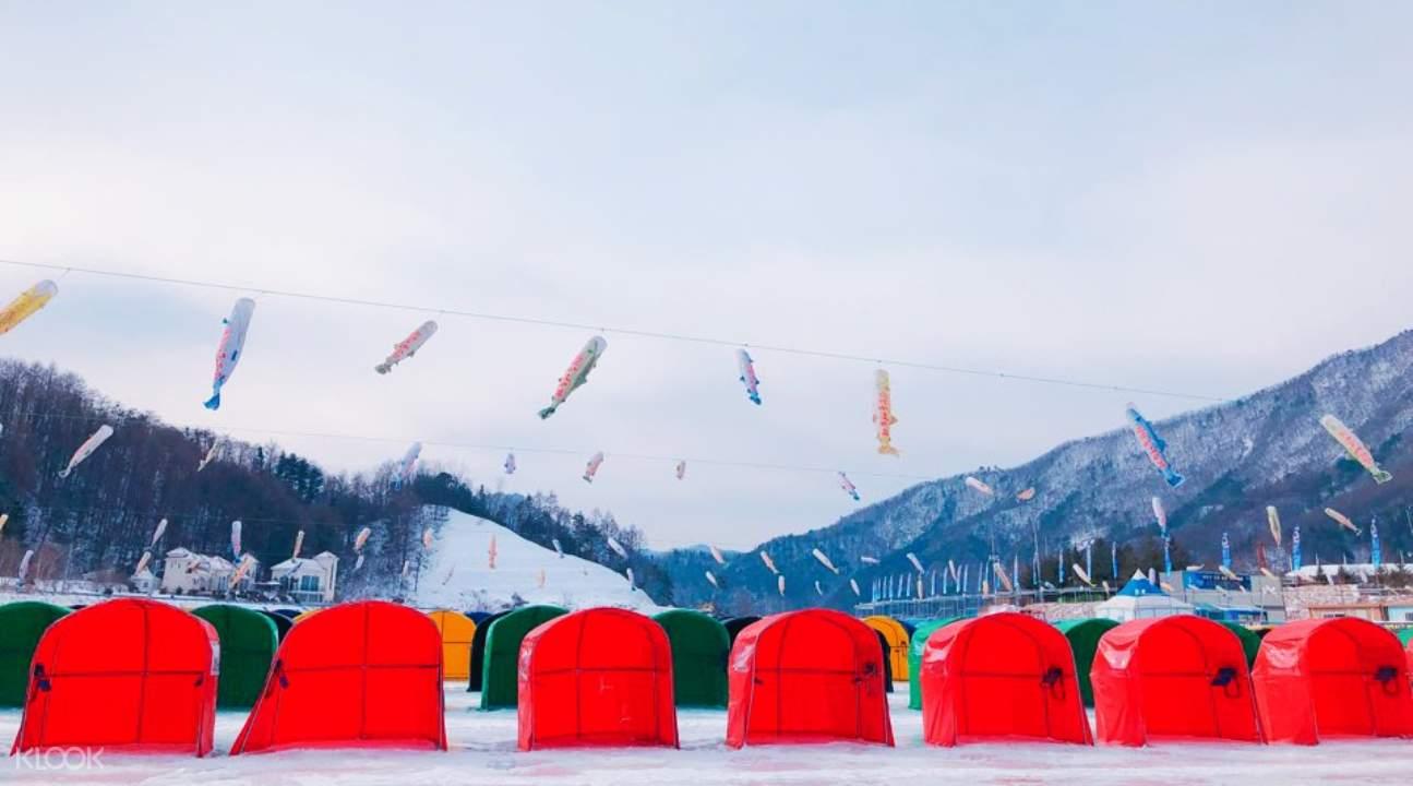 ice fishing festival