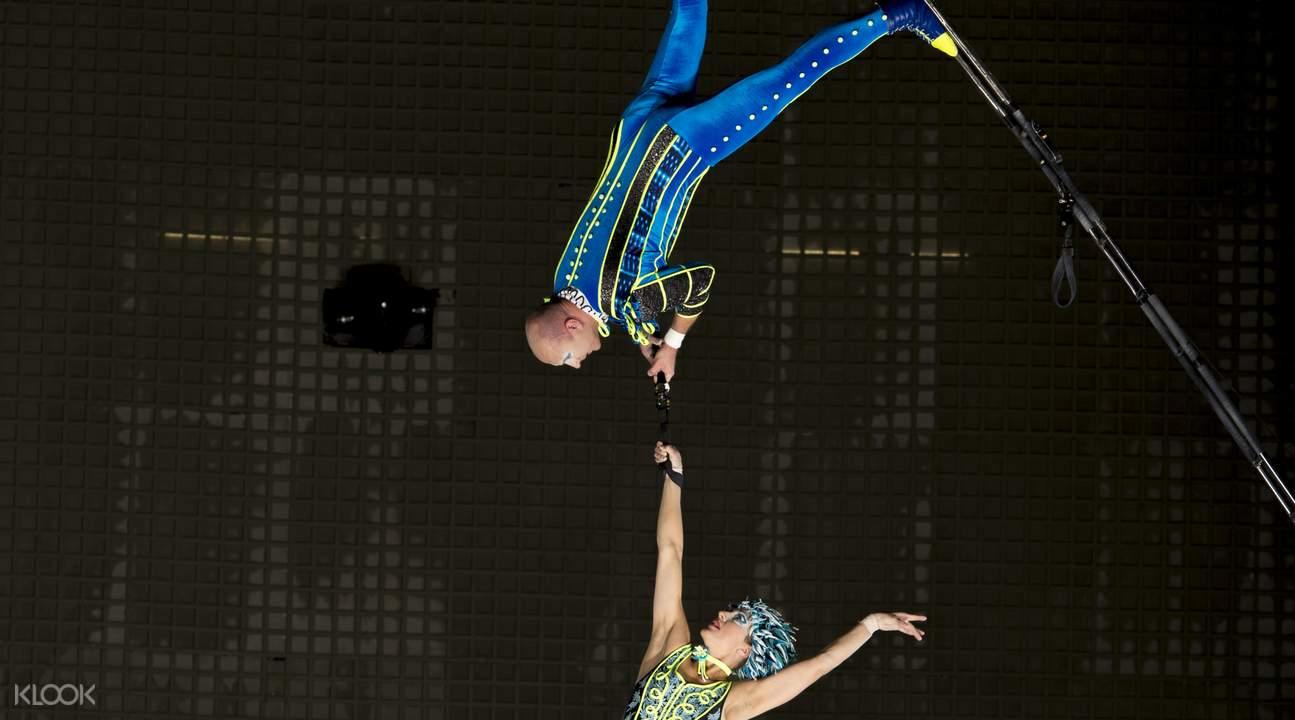 circus stunts