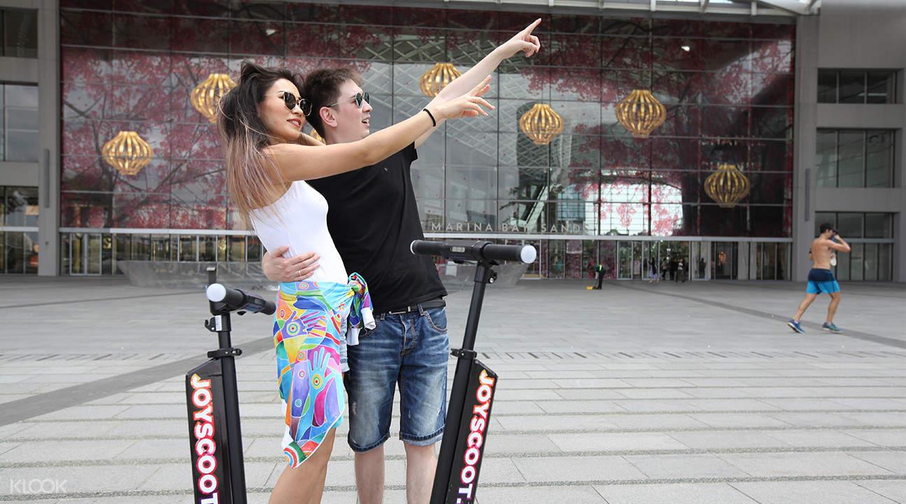 新加坡摩天观景轮电动滑板车 & 大型滑板车 & 悬浮滑板租借