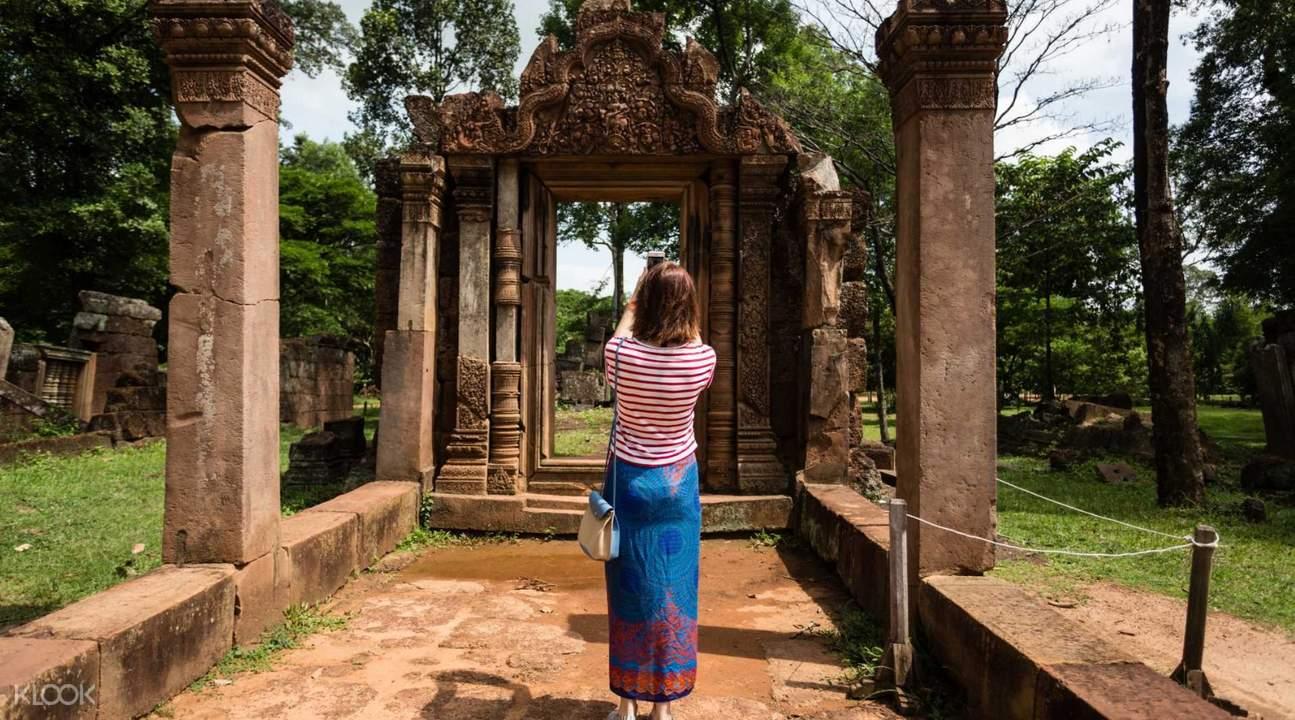 柬埔寨 暹粒 吴哥窟女王宫嘟嘟车游览 私人小团