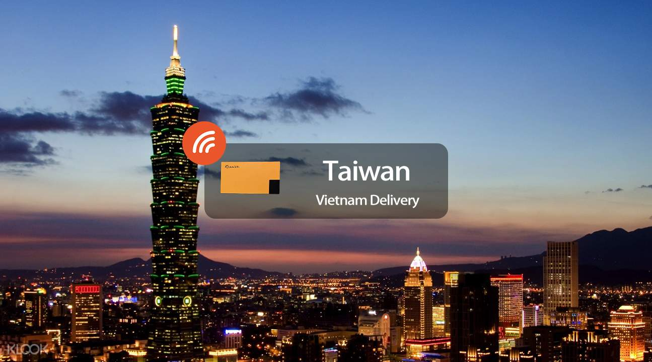 4G WiFi (Vietnam Delivery) for Taiwan
