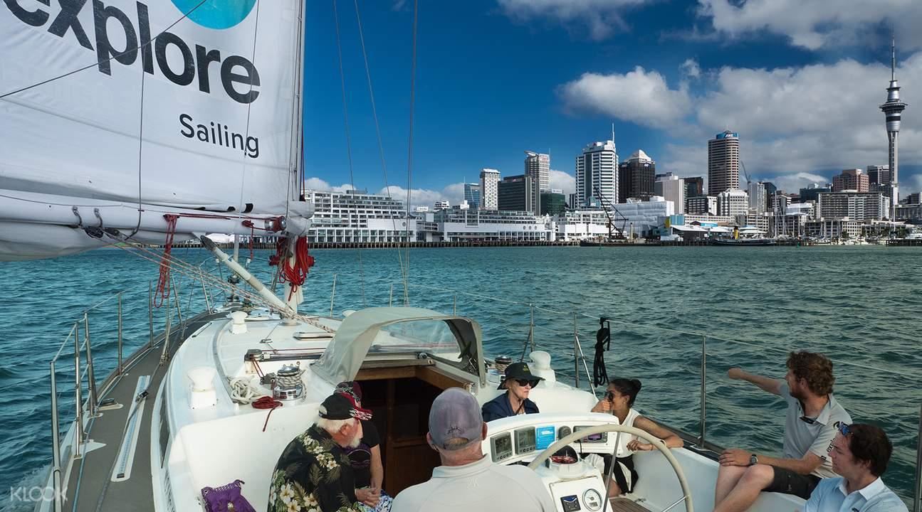 奧克蘭海港風帆船