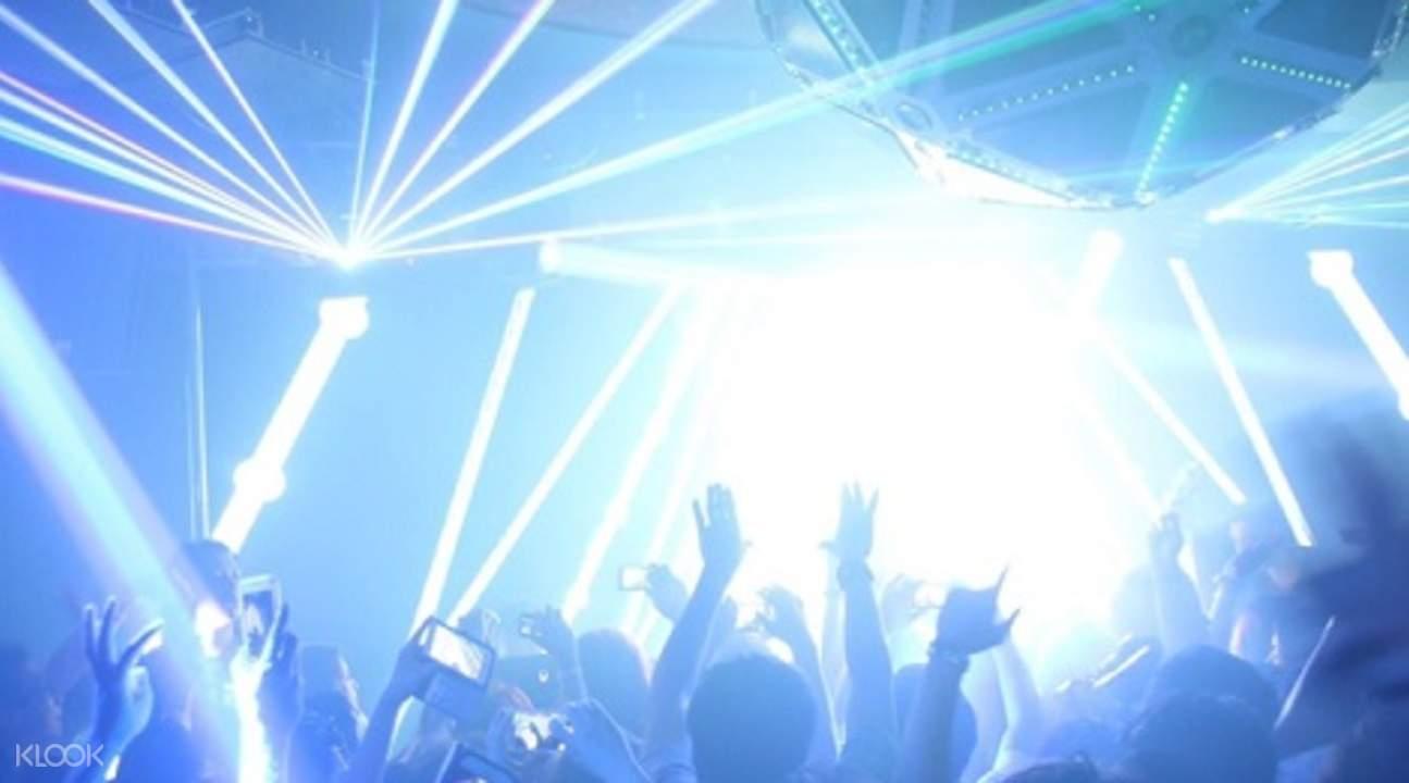東京夜生活極致體驗 7家CLUB暢玩入場券