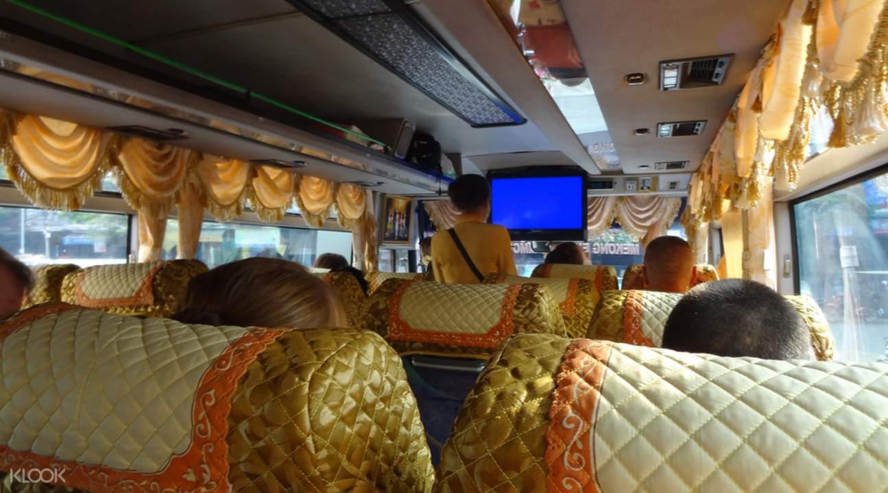 暹粒至金边共乘巴士