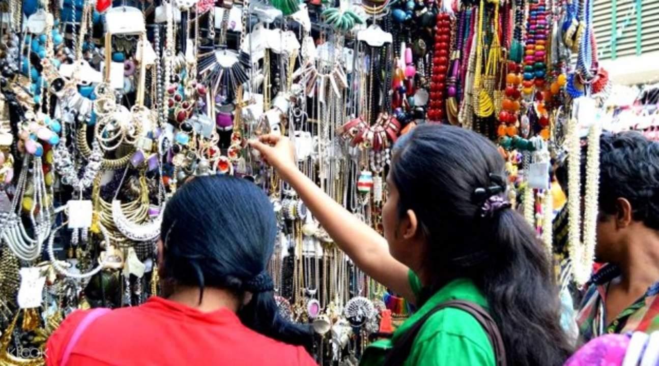 加爾各答街道購物