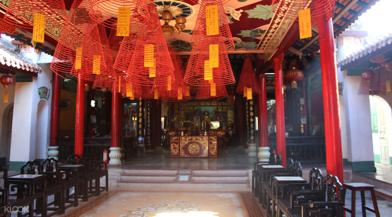 a temple in Hoi An