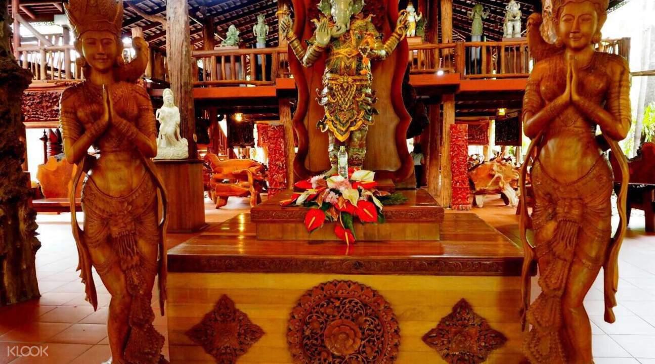 曼谷 Woodland Muangmai 木雕艺术村门票